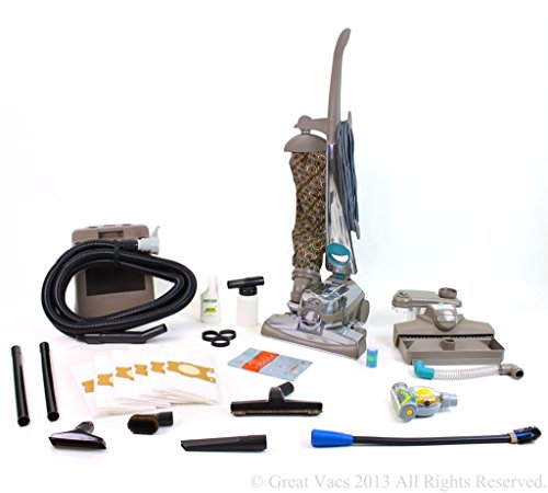 Reconditioned Kirby Sentria 2 Vacuum loaded with new GV tools, shampooer, turbo brush, bags & 5 Year Warranty