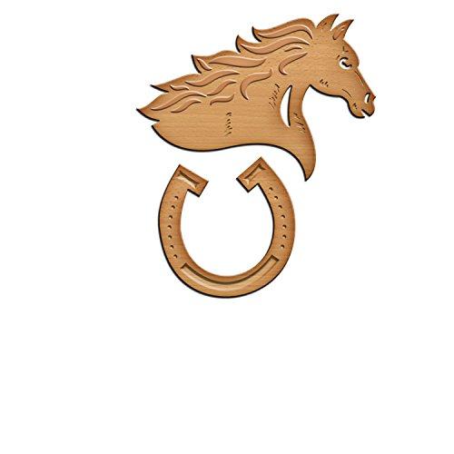Spellbinders Lucky Horse Die Template - - Die Horseshoe