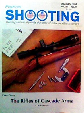Precision Shooting (January 1994) (Ballistic Tip Rifle Ammunition)