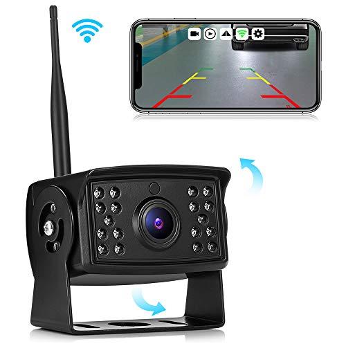 AUTOLOVER Backup Camera HD 720P Wireless Backup Camera for Truck