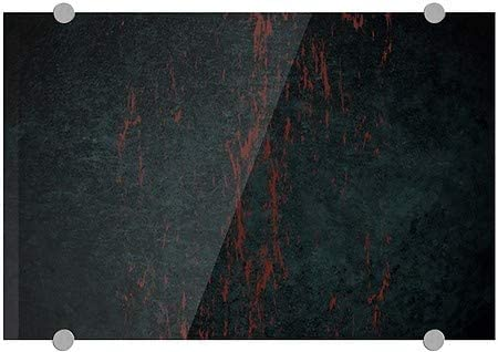 Ghost Aged Rust Premium Acrylic Sign CGSignLab 27x18 Blank