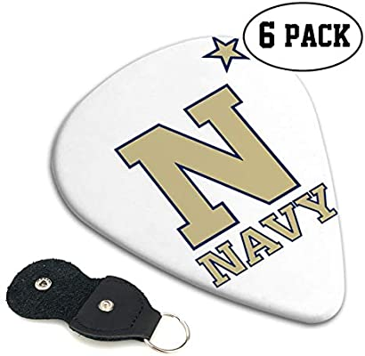 Paoseven US Navy Naval Academy - Funda de Piel para púas de ...
