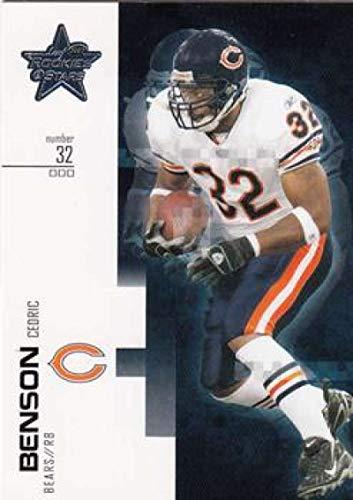 2007 Leaf Rookies and Stars #15 Cedric Benson Bears NFL Football Card NM-MT