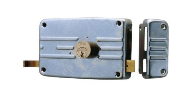 Cerradura de Sobreponer Iseo Art. 431703E Dx 70 mm: Amazon.es: Bricolaje y herramientas