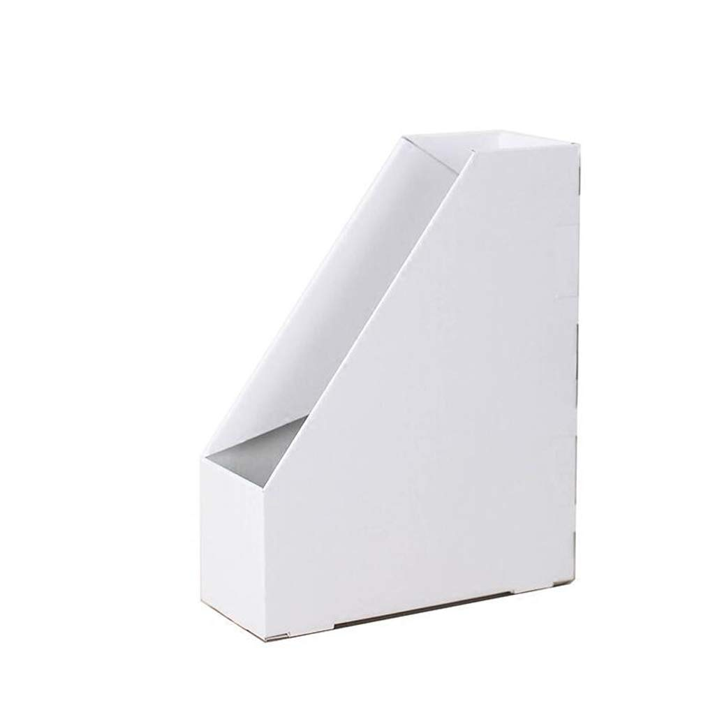 LIUDONGXIN Storage Box, Simple File Storage Box, Storage Vertical Bookshelf