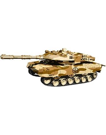 I-ONIK i.onik - Tanque Panzer teledirigido para smartphones, color marrón