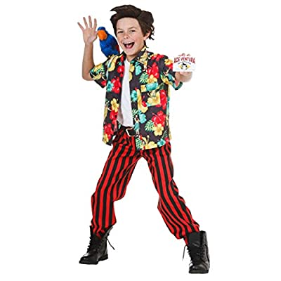Child Ace Ventura Costume with Wig: Clothing