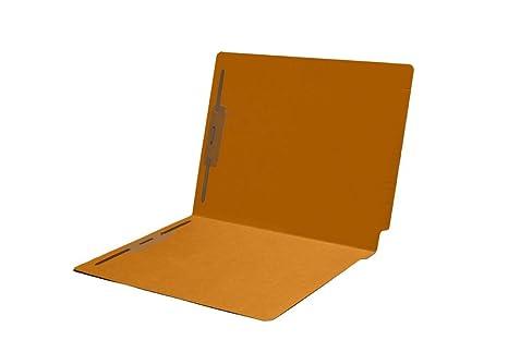 11pt Manila Folders Full Cut 2-Ply END TAB Fastener Pos #1 /& #3 Letter Size