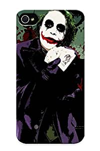 Special Eatcooment Skin Case Cover For Iphone 4/4s, Popular Joker Phone Case For New Year's Day's Gift