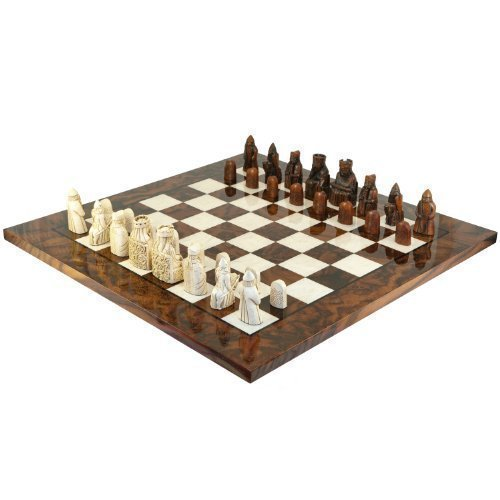 (The Isle Of Lewis Italian Briar Chess Set by The Regency Chess Company)