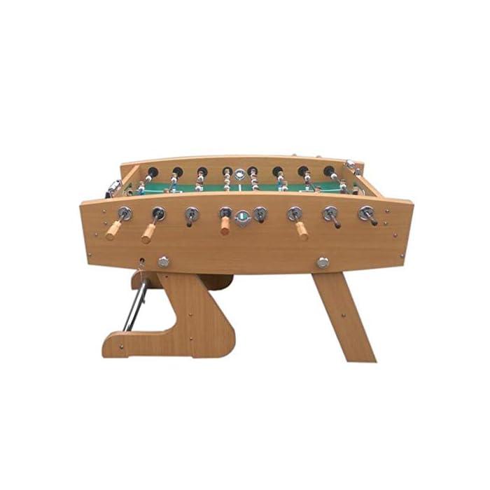"""418uCCrXCvL ✅ BOLETO PEQUEÑO PARA TODAS PARTES: El práctico tablero """"Kicker"""" se adapta a cualquier mesa, pero también se puede usar en todas las superficies planas. ✅ ALTA CALIDAD Y SEGURIDAD: la pequeña mesa de fútbol tiene un cuerpo hecho de una decoración de plástico insensible, campo de juego endurecido, figuras hechas de plástico duro resistente, gomas antideslizantes, amortiguadores de barra, barras cromadas con cerradura de seguridad para niños. ✅ TAMAÑO COMPACTO Y PESO LIGERO: Gracias a sus dimensiones compactas y bajo peso, la Mini Foosball Table es perfecta para divertirse con patadas móviles y flexibles."""