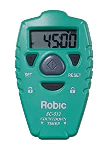 Robic SC-512 Handheld Countdown Timer (Green)