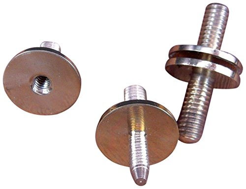 JWL (2) Solid Brass Cane Connectors Couplers 3/8
