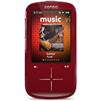 SanDisk Sansa Fuze+ 4 GB MP3 Player (Red) (Discontinued by Manufacturer)