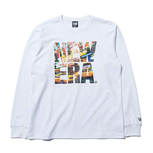 (ニューエラ) NEW ERA Tシャツ 長袖 LANDSCAPE BIG ホワイト M
