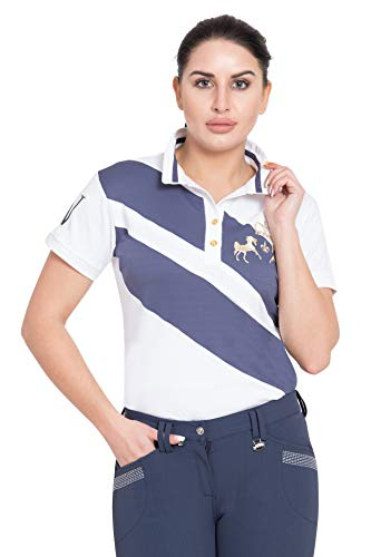 Equine Couture Ladies X-Press Polo M Marine