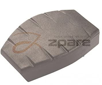 MILPAR couvre/revestimiento Pedal de embrague/de freno Twingo (C06 _) 1.2 (C063, C064)/Twingo (C06 _) 1.2 (C067): Amazon.es: Coche y moto