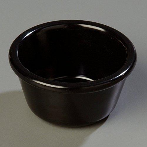 Carlisle S28503 Melamine Smooth Ramekin, 4 oz. Capacity, Black (Case of 48) by Carlisle (Image #8)'