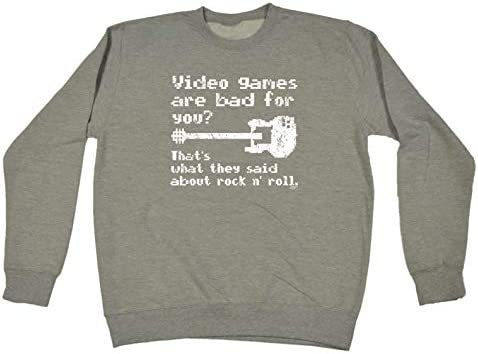 funny sweatshirt video games are bad for you sweater jumper