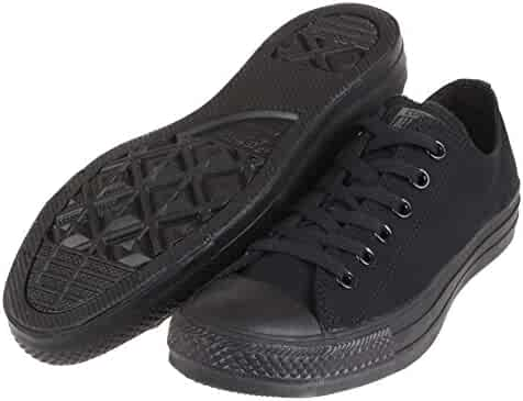 Converse Chuck Taylor All Star Low Top (9 Men 11 Women, Black Monochrome)