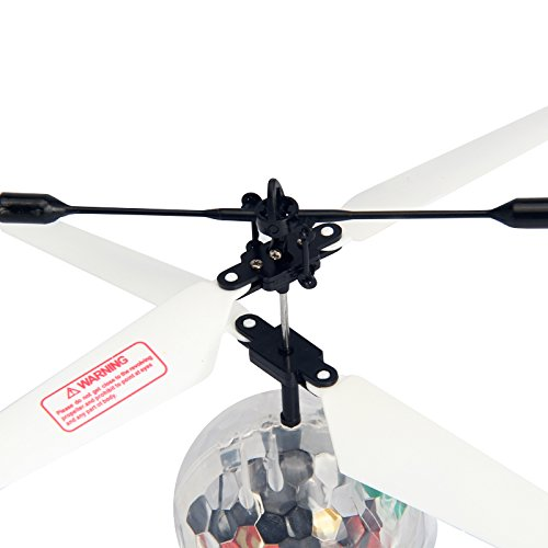 [New Vision] Mini Induction Flying Ball RC Helicopter Toys Drone for Kids Children Teenagers,Durable ABS Materials,Builted-in Shinning LED Light with Music