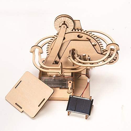 weichuang Houten model DIY 3D Houten Puzzel Coaster Model Vergadering Bouw Kits Speelgoed Drop Solar track Verzending voor Kinderen Volwassen Gift Houten puzzel