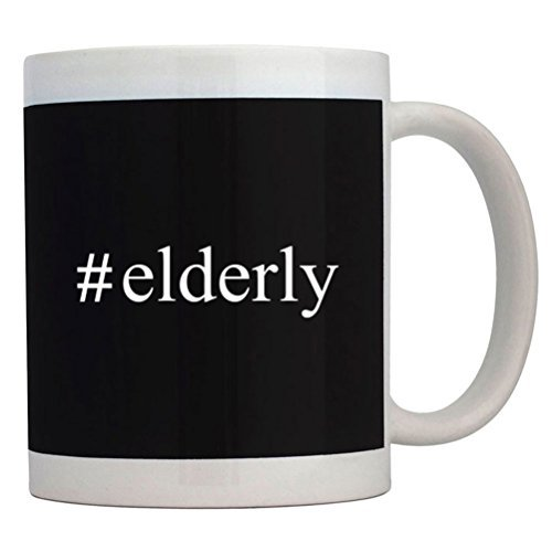 Fuuny Coffee Mugs #Elderly Hashtag Mug