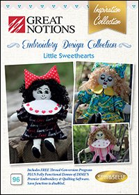 Great Notions Embroidery (Great Notions Embroidery Design Collection - Little Sweethearts)