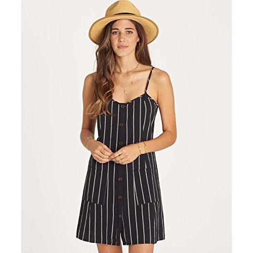 Billabong Women's Hot Hap Stripe Dress, Black, M