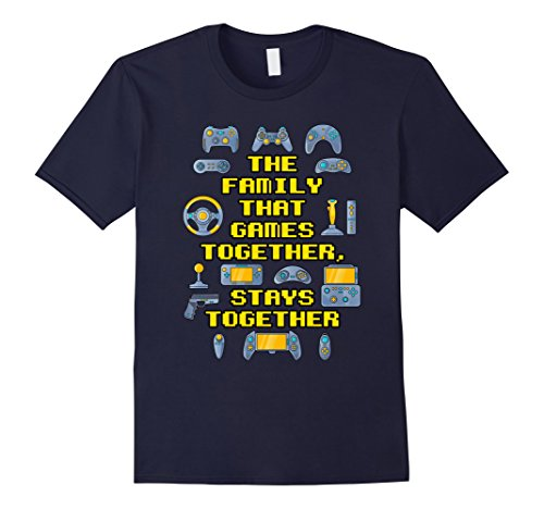 Mens Family Gamer Video Games Tee