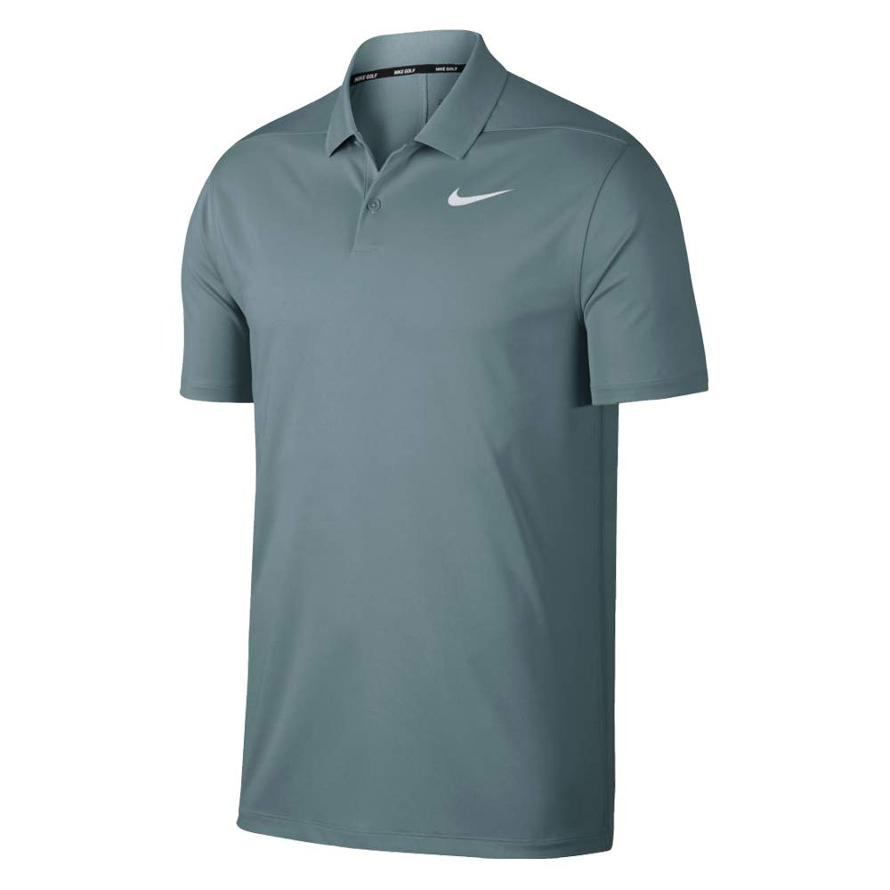 Nike Dri Fit Victory Solid LC Golf Polo 2019 Aviator Gray/White X-Large by Nike
