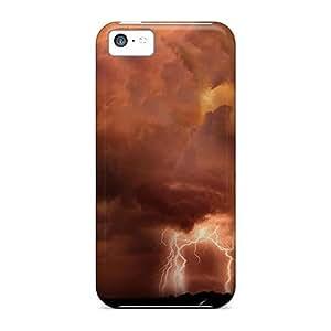 [eia19267oBiU]premium Phone Cases For Iphone 5c/ Dark Lightning Cases Covers