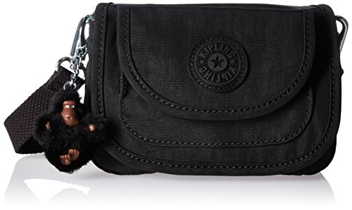 Kipling Barrymore Solid Mini Crossbody Bag, Black