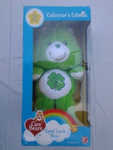 12' Collectors Edition - Cares Bears 20th Anniversary Collector's Edition Good Luck Bear 12'