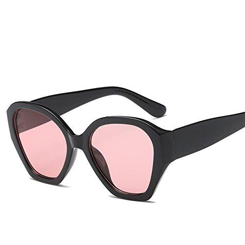 Aoligei L'Europe et les États-Unis grand cadre lunettes de soleil lunettes de soleil rétro lunettes de soleil femmes eAxUe161HY