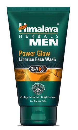 Siddhi Enterprises HimalayaMen Power Glow Licorice Face Wash, 100 ml  Pack of 2