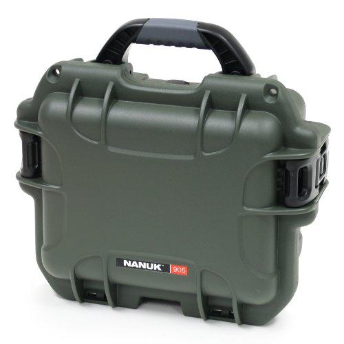 Nanuk 905 Waterproof Hard Case with Foam Insert - Olive