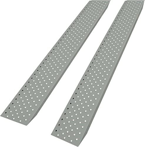 belastbar bis 200kg pro Rampe 2er Set Verladerampe Auffahrrampe Stahl eloxiert
