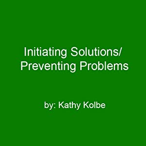 Initiating Solutions/Preventing Problems Speech
