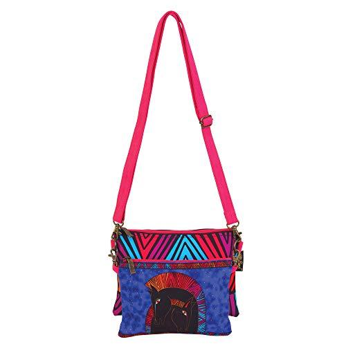 - Laurel Burch 2 pc Crossbody Bag 6551 (Embracing Horses)