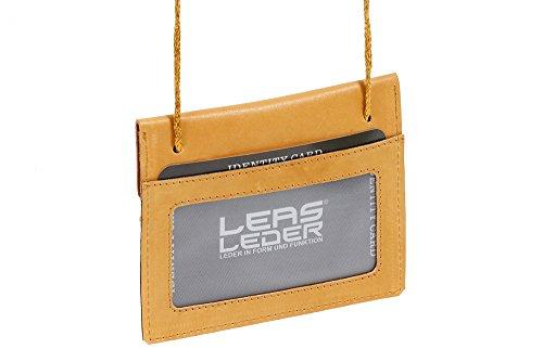 Tracolla Portafoglio LEAS, beige/naturale - ''LEAS Travel-Line''