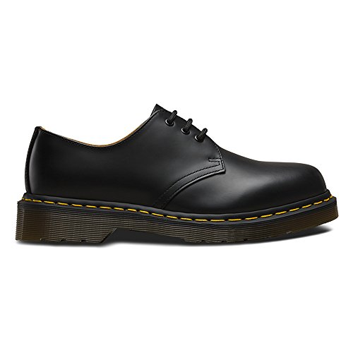 Dr Martens Lace-Up Textile Lined Mens Shoes - Black - Size 12