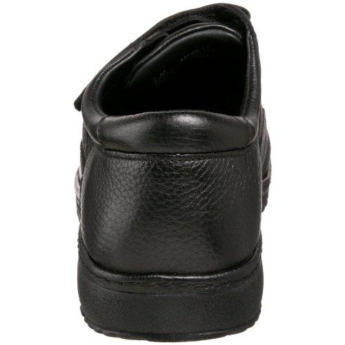Drew Shoe Hombres Franklin Sneaker Black Tumbled Leather