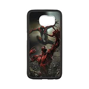 Pictures Of Spiderman Samsung Galaxy S6 Cell Phone Case Black xlb-118734