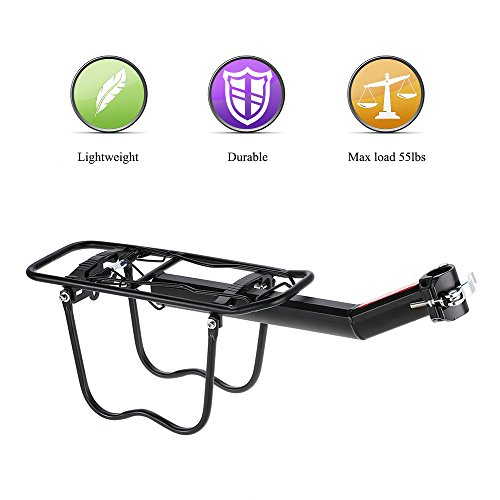 Lixada Quick Release Einstellbare Bike Carrier Mount Rack Radfahren Cargo Racks