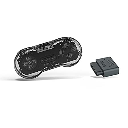 8Bitdo SN30 Retro Set (Transparent Edition) - Super NES