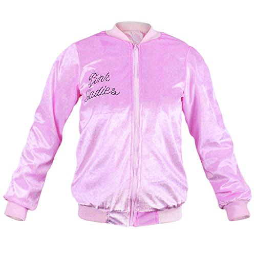 Wraith of East Vintage 1950S Costume Pleuche Casual Pink Ladies Jacket Adult Women 3X-L
