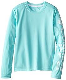 Columbia Sportswear Boy\'s Terminal Tackle Long Sleeve Tee, Gulf Stream, Medium