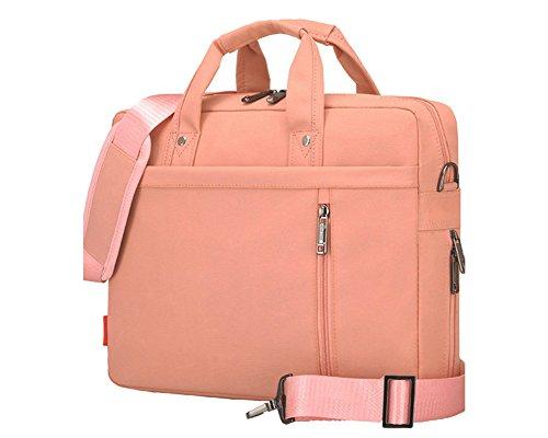 Multifuncional Portátil Hombro Bolsa Maletín Portátil de Ordenador Portátil Netbook / Chromebook / Macbook Pink