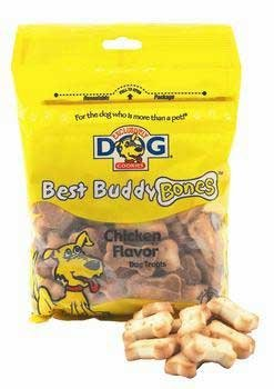 Exclusively Dog Cookies Best Buddy Bones Dog Treats (Chicken Flavor, 5 1/2 oz.) - Exclusively Dog Best Buddy